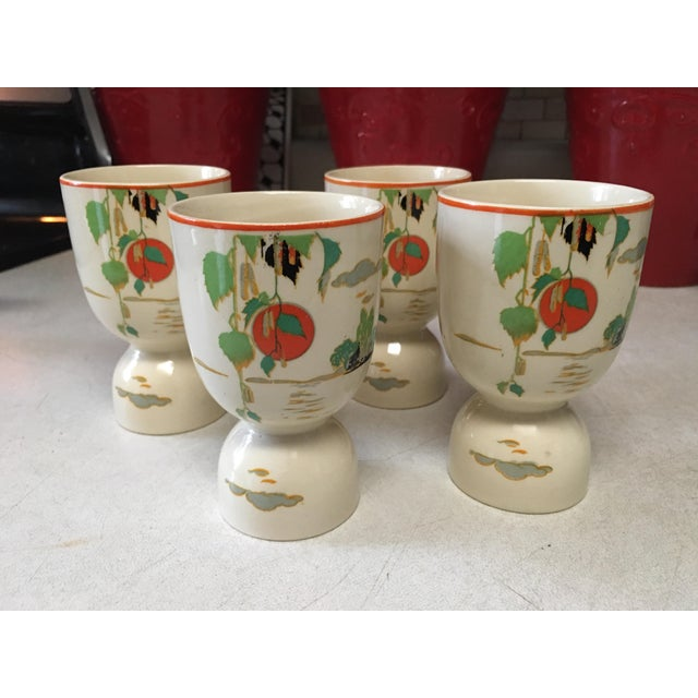 Vintage 1920s Double Egg Cups - Set of 4 For Sale - Image 4 of 7