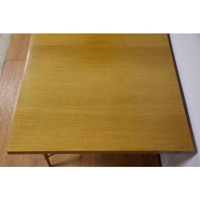 1950s Dining Table and Chairs by Paul McCobb - Set of 7 For Sale - Image 5 of 13