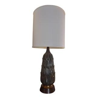 Vintage Mid-Century Porcelain Lamp