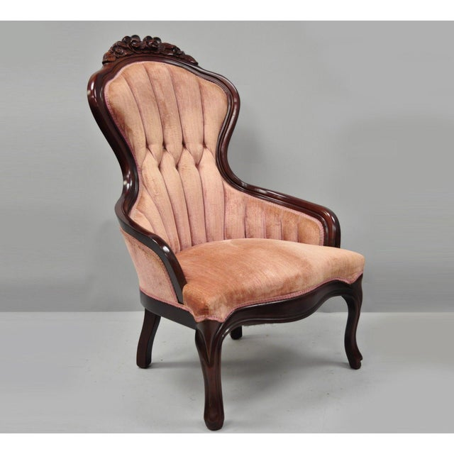 Vintage Kimball Victorian Mahogany Rose, Kimball Antique Furniture
