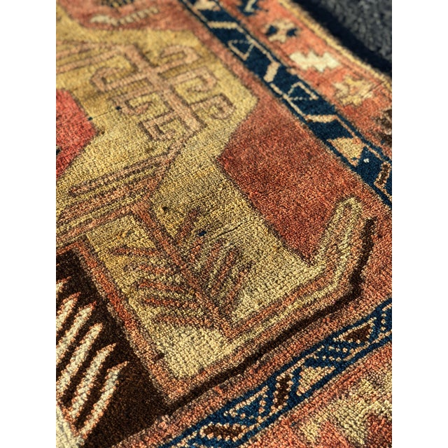 1950s Vintage Persian Sarab Runner Rug - 3′1″ × 10′2″ For Sale - Image 11 of 13
