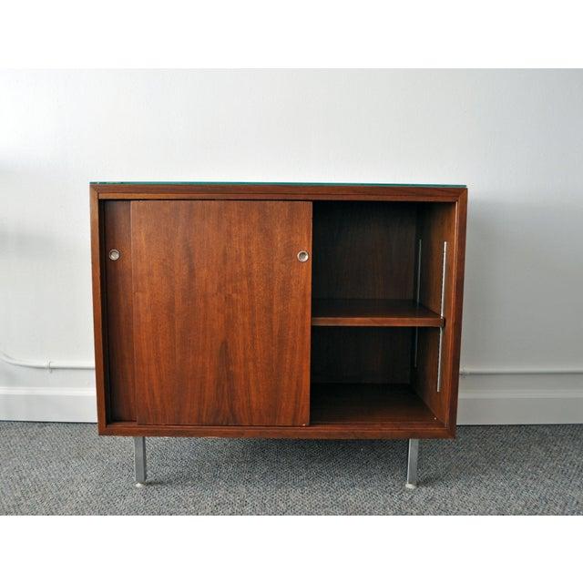 Mid-Century Modern Walnut Cabinet - Image 4 of 10
