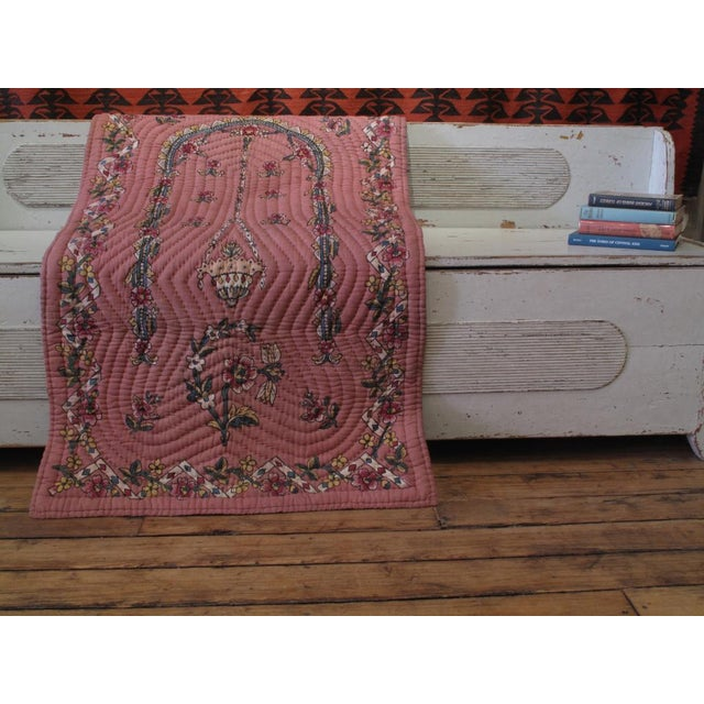 Quilted Prayer Rug For Sale In New York - Image 6 of 10