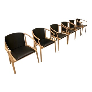 Jens Dining Chairs by B&b Italia-Set of 6 For Sale