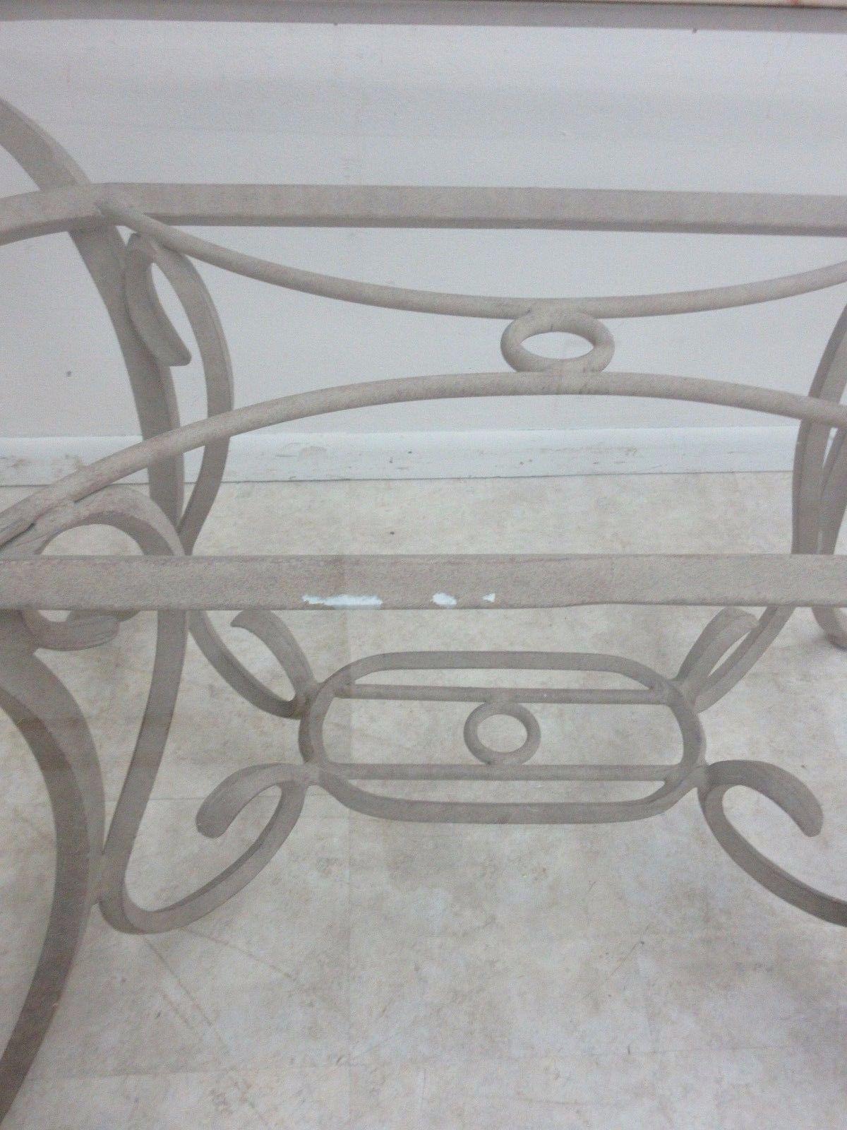 Woodard Furniture Co. Woodard Landgrave Cast Classics Aluminum Outdoor  Dining Table For Sale   Image