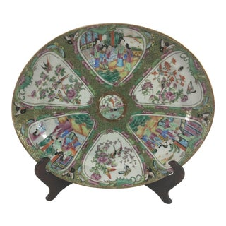 19th Century Mandarin Platter For Sale
