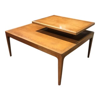 Mid-Century Modern Two Tier Table For Sale