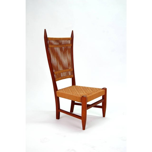 Diminutive Scandinavian Chair in Teak For Sale - Image 8 of 8
