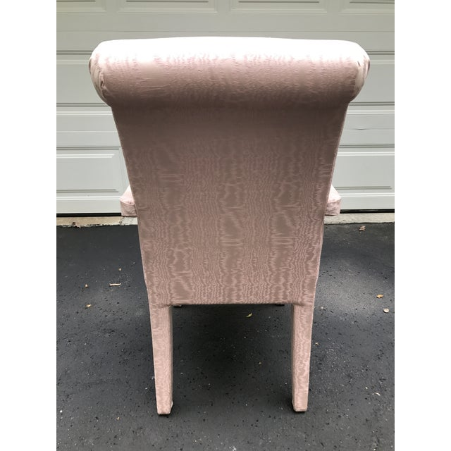 Pink Parsons Chair For Sale - Image 5 of 6