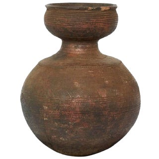 Early 20th Century African Clay Beer Pot For Sale
