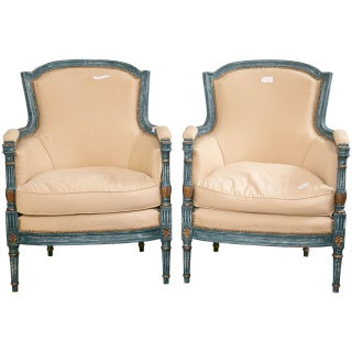 Louis XVI Style Chairs by Maison Jansen - A Pair For Sale