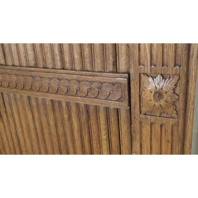 Late 18th Century 18th Century French Tambour Cabinet For Sale - Image 5 of 6