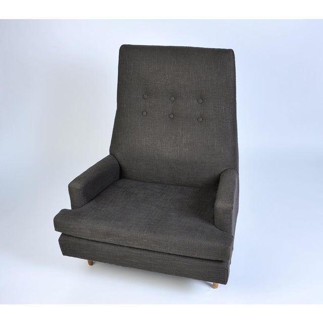 Adrian Pearsall Vintage Adrian Pearsall High Back Lounge Chair For Sale - Image 4 of 10