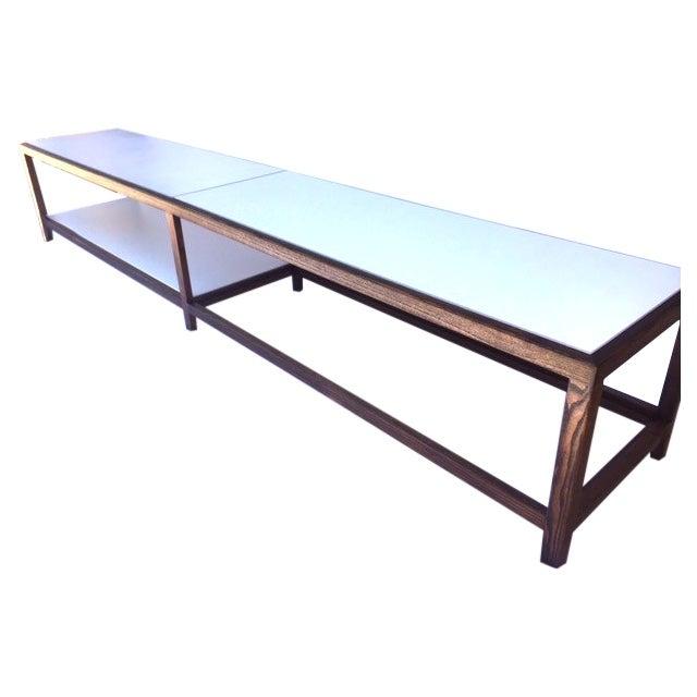"""Edward Wormley """"Dunbar"""" Ash & Laminate Table - Image 1 of 6"""