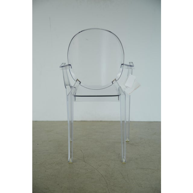 2010s Louis XVI Ghost Chairs by Philippe Starck for Kartell, Unused With Original Tags, 12 Available For Sale - Image 5 of 10