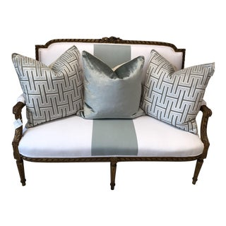 Louis XVI French Settee For Sale