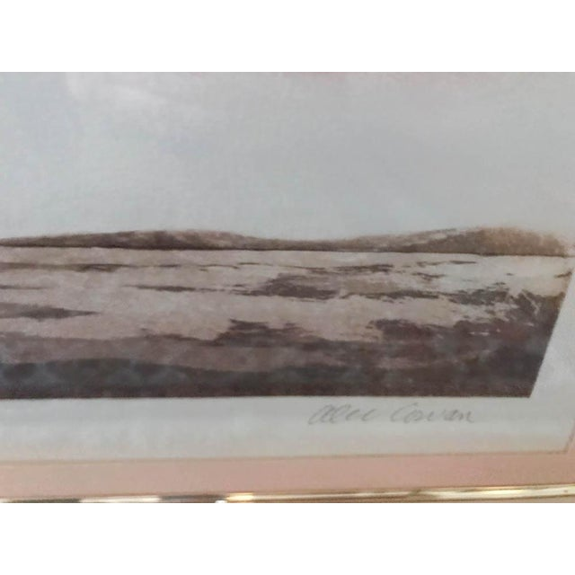 Mid 20th Century Mid Century Original Artwork by Listed Artist Alec Cowan, Laguna Channel For Sale - Image 5 of 9