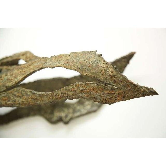 Brown Gabor Kalman Sculpture For Sale - Image 8 of 10
