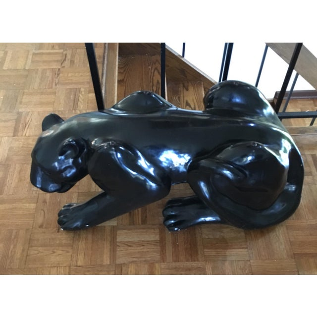 Black Panther Coffee Table Circa 1970's For Sale - Image 5 of 5