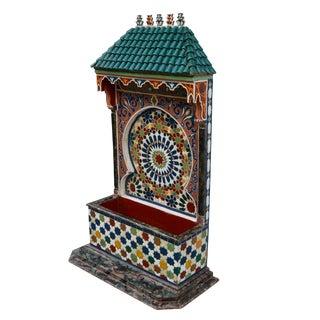 Fine Design Handmade Moorish Fountain For Sale