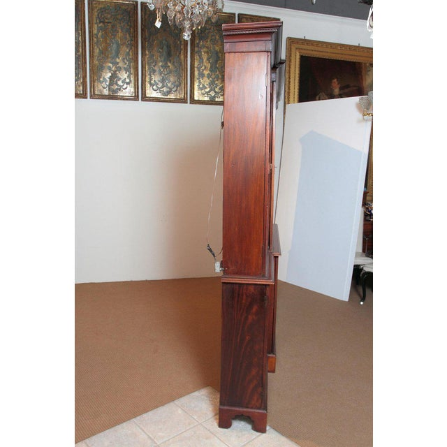 Late 18th Century George III Mahogany Breakfront For Sale - Image 11 of 13