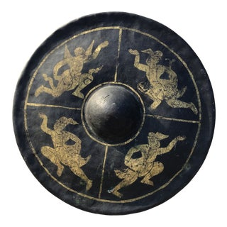 Antique Southeast Asian Gong Patina and Age For Sale