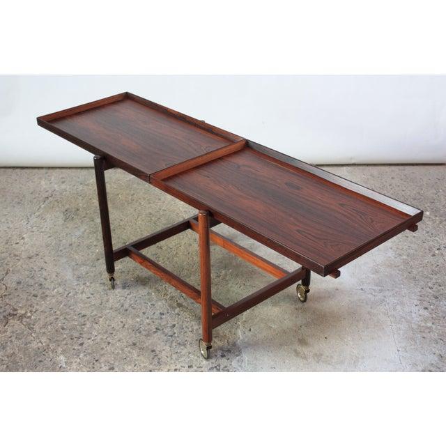 Poul Hundevad Rosewood Modular Bar Cart For Sale - Image 13 of 13