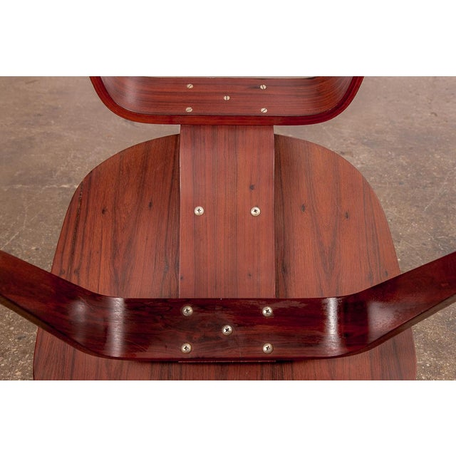 Rare Eames Pre-Production Rosewood LCW - Image 10 of 11