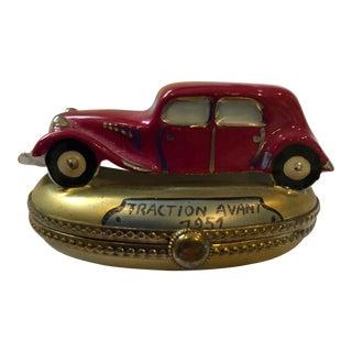 Limoges Vintage Auto Box