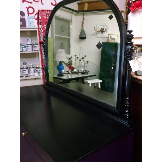 1950s Vintage Dresser With Mirror - Image 4 of 10