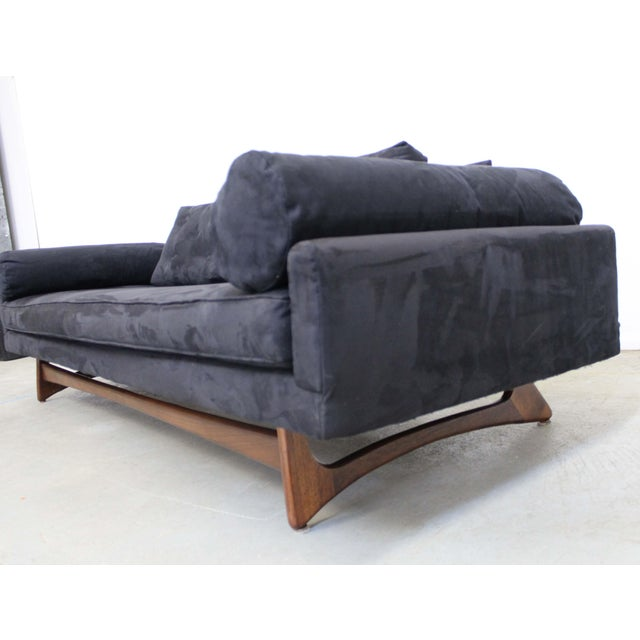 Craft Associates Mid-Century Modern Adrian Pearsall Craft Associates Sculptural Sofa 2408 For Sale - Image 4 of 13