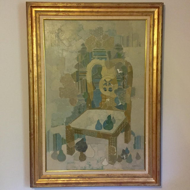 Blue Chair by Brodzinsky For Sale - Image 10 of 10