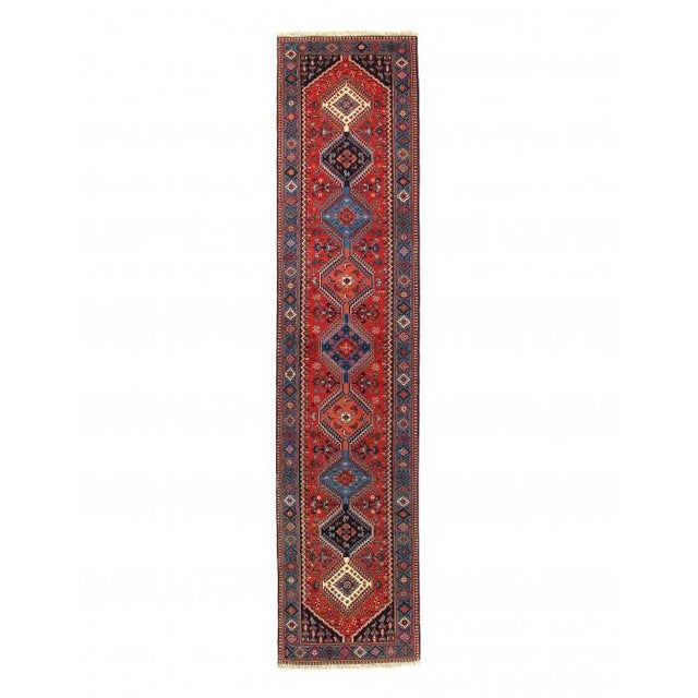 Pasargad Red Persian Yalameh Runner- 2′8″ × 12′ For Sale - Image 4 of 4