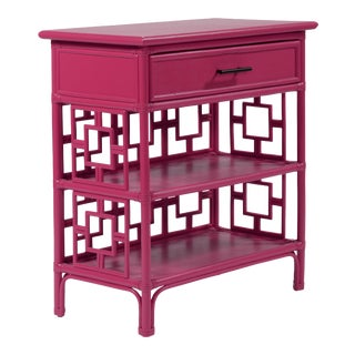Sobe End Table - Bright Pink For Sale