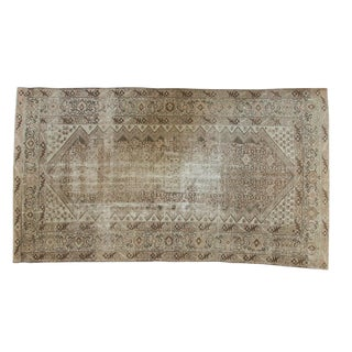 "Vintage Distressed Malayer Carpet - 5'6"" X 9'7"""