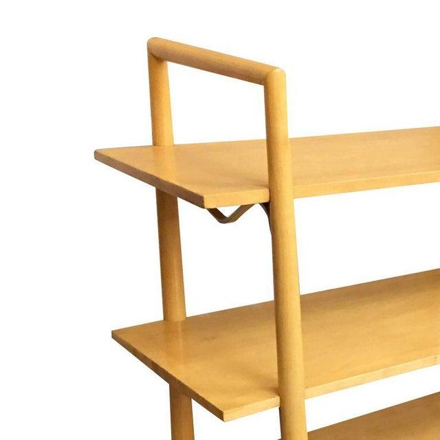 Wood Swedish Midcentury Bookshelf by Edmond Spence For Sale - Image 7 of 8