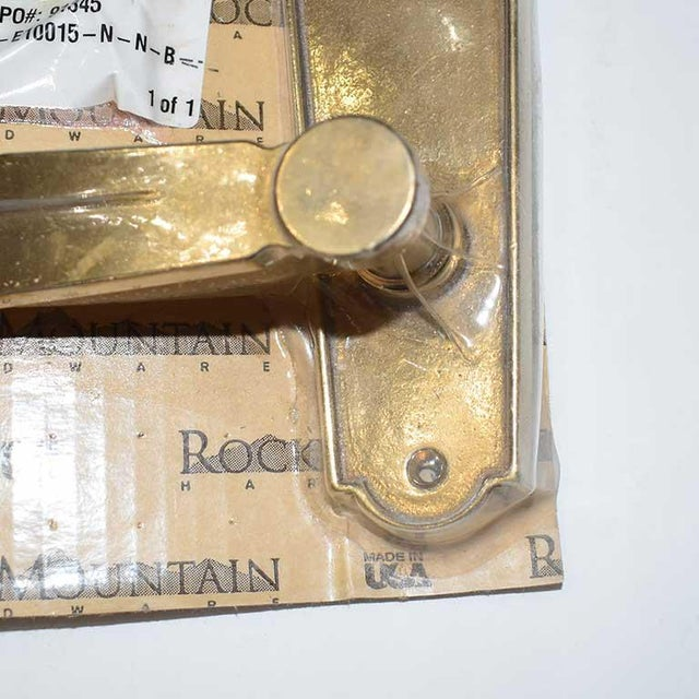 Rocky Mountain Hardware Door Handles-A Pair For Sale - Image 4 of 5