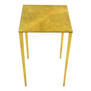 Modern Bungalow 5 Eugene Polished Brass Side Table For Sale