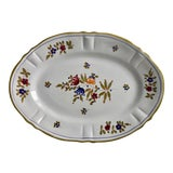 """Image of Italian Faience Hand-Painted 15""""Oval Platter For Sale"""