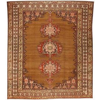 Antique 19th Century Persian Zili Sultan Carpet
