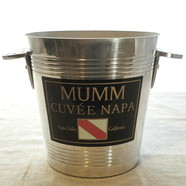 French Faucogney for Napa Valley Sparkling Wine Bucket For Sale In Dallas - Image 6 of 6