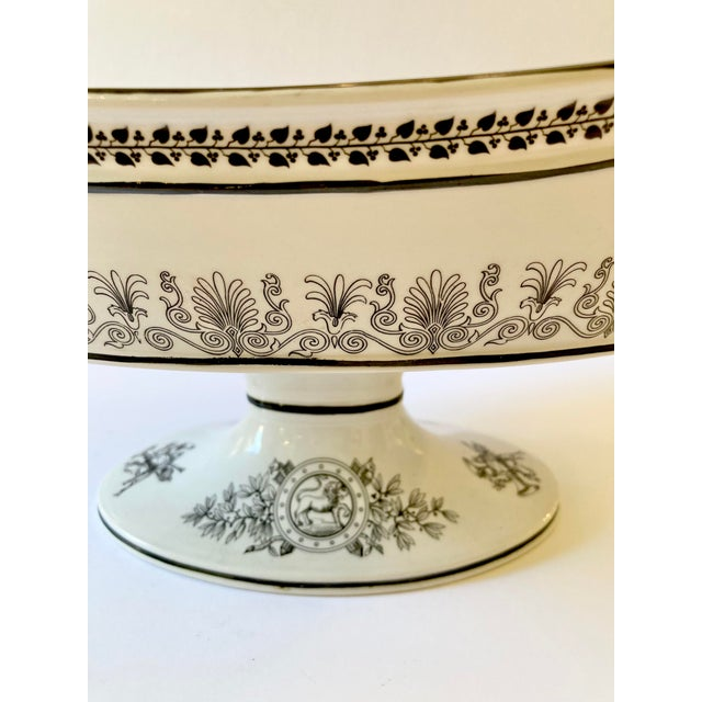 Mottahedeh Italian Pedestal Bowl For Sale In Los Angeles - Image 6 of 12
