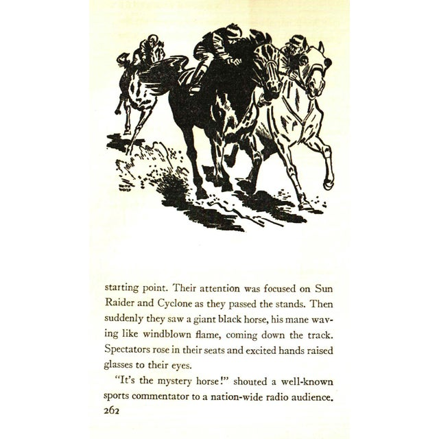 """1940s 1941 """"The Black Stallion"""" Collectible Book For Sale - Image 5 of 6"""