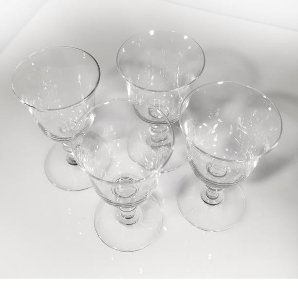 Hollywood Regency 1970s Vintage Baccarat Crystal Provence Cordial Glasses- Set of 4 For Sale - Image 3 of 8