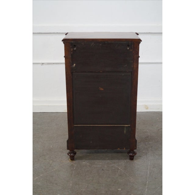 American Carved Walnut Cabinet For Sale - Image 4 of 10
