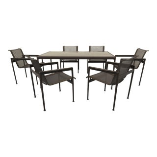 Richard Shultz for Knoll 1966 Collection Dining Table With Chairs - Dining Set