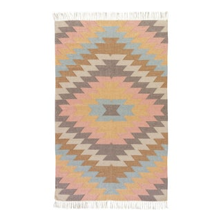 Jaipur Living Mojave Indoor/ Outdoor Geometric Multicolor Area Rug - 2' X 3' For Sale