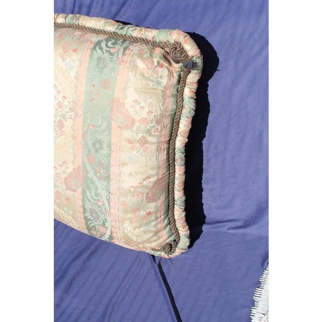 20th C. Two Difrernt Size of Possibly Italian Scalamandre Pillow For Sale In San Diego - Image 6 of 10