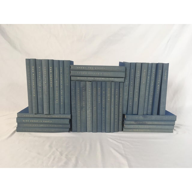 American Yale Shakespeare Decorator Blue Books - 38 Volumes For Sale - Image 3 of 6