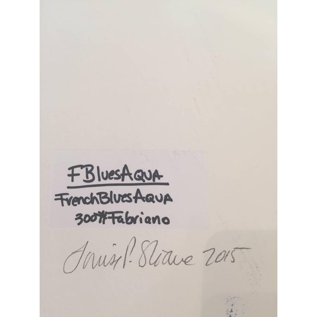 Louise P Sloane Louise P. Sloane FBluesAqua 2015 For Sale - Image 4 of 5
